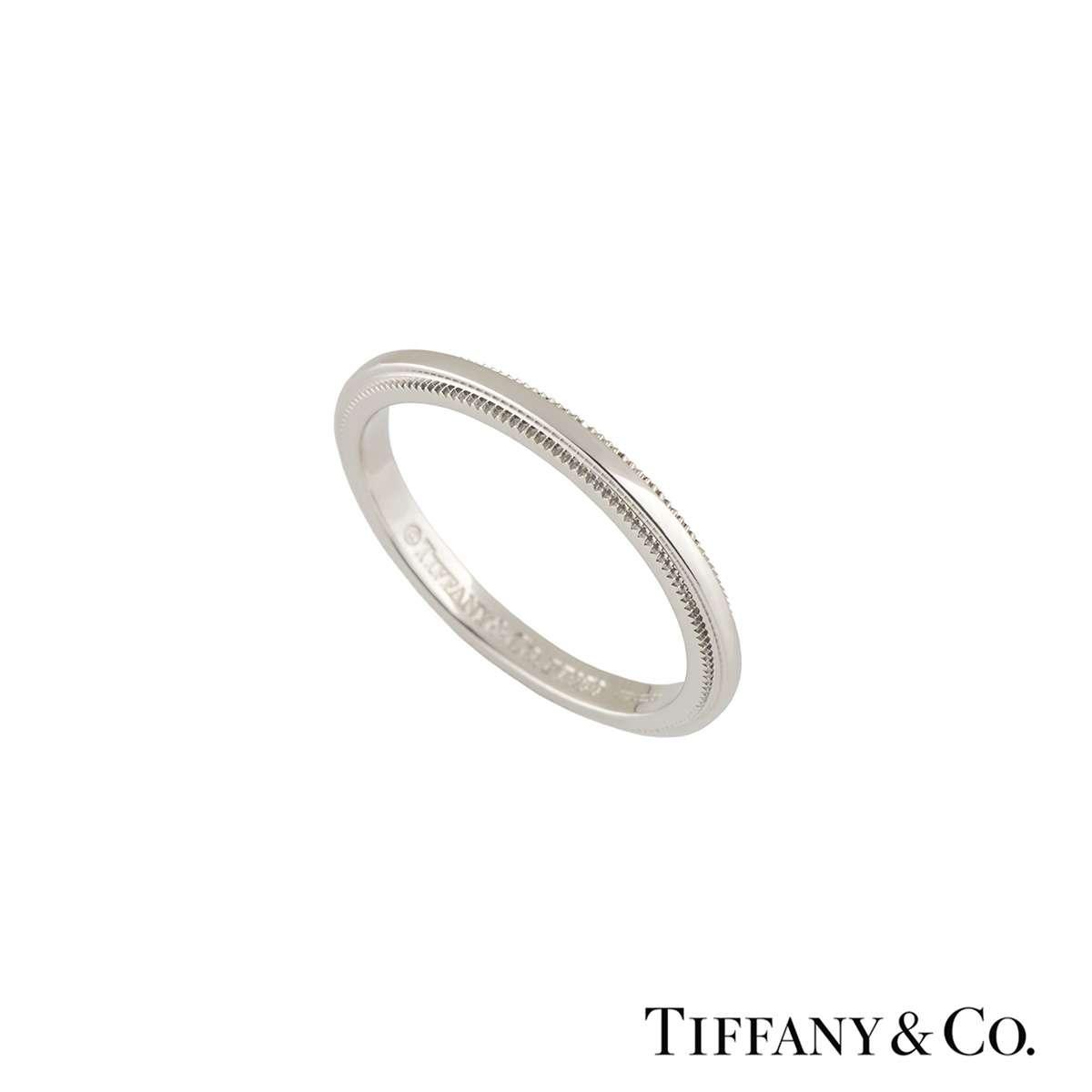 Tiffany & Co. Platinum Classic Wedding Band